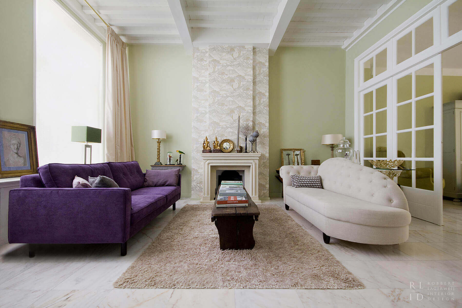 Binnenhuis architect inspiratie
